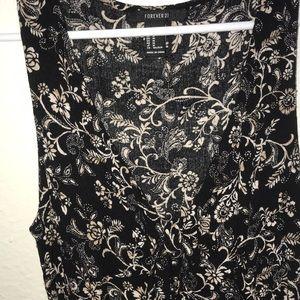 Dresses & Skirts - floral print f21 dress